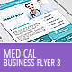 Medical Business Flyer Template 3 - GraphicRiver Item for Sale