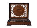 Qur'an in a wooden box isolated. - PhotoDune Item for Sale