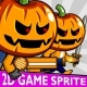 Halloween Boy 2D Game Character Sprite - GraphicRiver Item for Sale