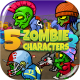 5 Zombies Pack №2 - GraphicRiver Item for Sale