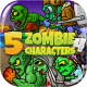 5 Zombies Pack №4 - GraphicRiver Item for Sale