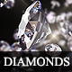 Fly-Through Diamonds // Sparkling - VideoHive Item for Sale