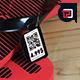 Flip Flops Price Tag Mockup - GraphicRiver Item for Sale