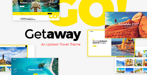 Getaway - Travel & Tourism Theme