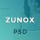 Zunox - Creative Multipurpose PSD Template - ThemeForest Item for Sale