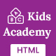 KidsAcademy -Kids Kindergarten & School HTML Template - ThemeForest Item for Sale