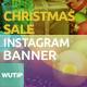 10 Instagram Post Banner-Christmas Sale - GraphicRiver Item for Sale