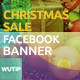 20 Facebook Post Banner - Christmas Sale - GraphicRiver Item for Sale