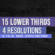 Lower Thirds Media - VideoHive Item for Sale