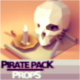 Low Poly Pirate Themed Prop Pack - Game Ready - 3DOcean Item for Sale