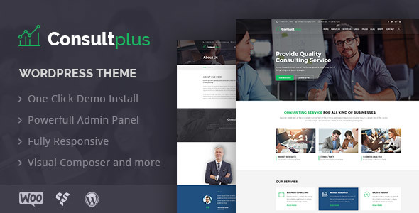 Consultplus : Business Consulting WP Theme