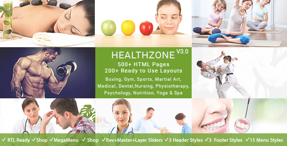 HealthZone - Medical Dental