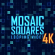 Blue Mosaic Squares 4K Version - VideoHive Item for Sale