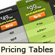 CSS3 Mega Pricing Tables Pack - CodeCanyon Item for Sale