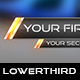 Metal Fire Lower Thirds - VideoHive Item for Sale