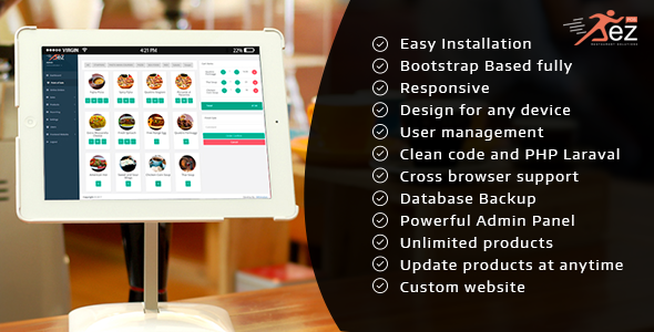 Easy POS and Restaurant Solution with Hold Tables Download