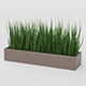 Grass Pot - 3DOcean Item for Sale