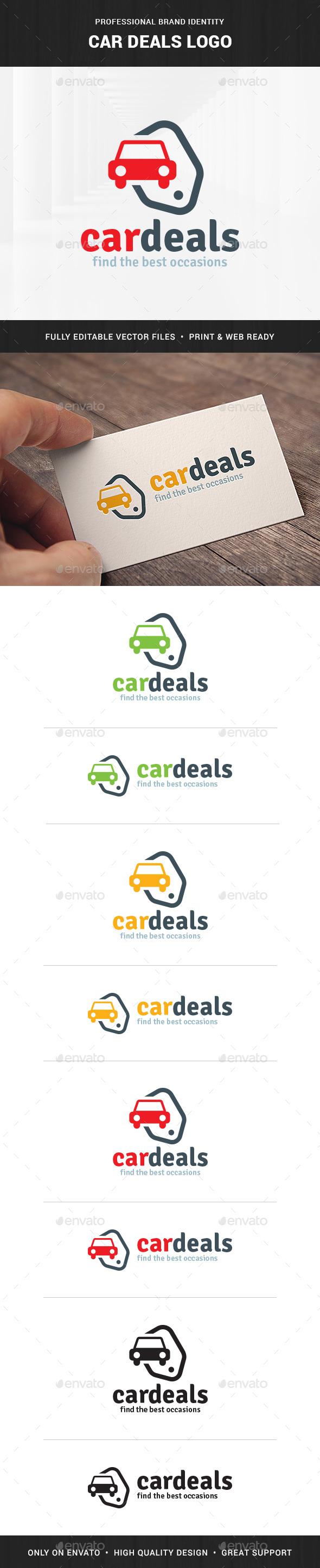 Car Deals Logo Template