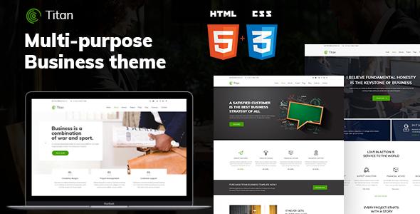 Titan - Business HTML5 Template