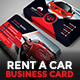 Luxury Rent A Car Business Card - GraphicRiver Item for Sale