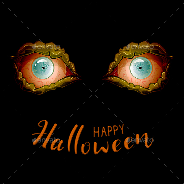 Scary Eyes for Halloween