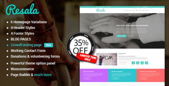 Resala WordPress theme