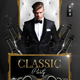 Classic Black Party Flyer - GraphicRiver Item for Sale