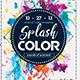 Splash Color Flyer - GraphicRiver Item for Sale