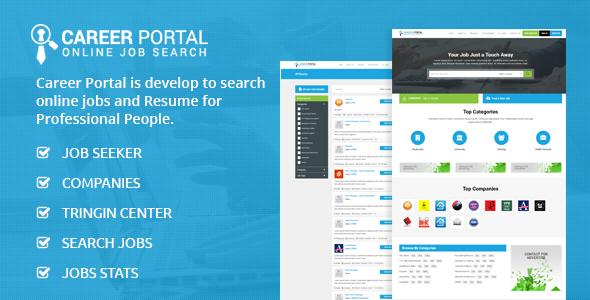 Job Portal Php Scripts From Codecanyon