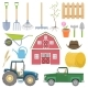 Farming Agricultural Instruments - GraphicRiver Item for Sale