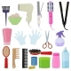 Tools and Hair Care Products - GraphicRiver Item for Sale