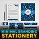 Minimal Branding Stationery - GraphicRiver Item for Sale