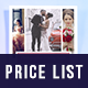 Photographer Price Guide - GraphicRiver Item for Sale