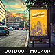 Outdoor Advertising Mock-Up - GraphicRiver Item for Sale