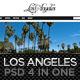 Los Angeles - A Premium PSD Template - ThemeForest Item for Sale