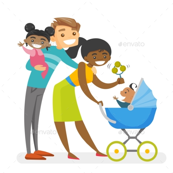 Diverse Multiracial Family