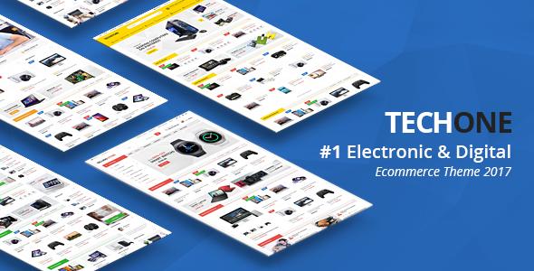 TechOne - Premium OpenCart Theme