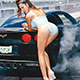 Fast Speeding Car