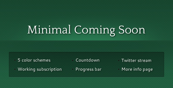 Themeforest | Minimal Coming Soon Free Download free download Themeforest | Minimal Coming Soon Free Download nulled Themeforest | Minimal Coming Soon Free Download
