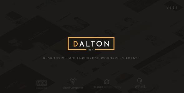 Dalton - Clean Multi-Purpose WordPress Theme