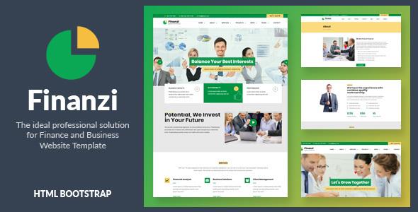 Finanzi - Finance and Business HTML Template