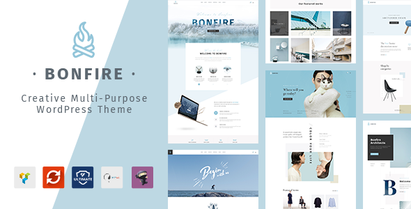 Bonfire - Creative Multipurpose WordPress Theme