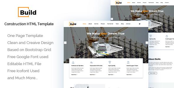 Build - Construction Building Company
