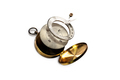 Isolated image of Disintegrate Brass Compass - PhotoDune Item for Sale
