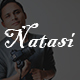 Natasi-One Page Personal HTML5 Template - ThemeForest Item for Sale