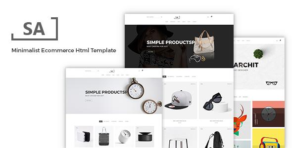 Sa - Minimal eCommerce HTML Template