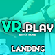 Vrplay - One Page / Landing Web Template - GraphicRiver Item for Sale