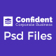 Confident - Business & Agency PSD Template - ThemeForest Item for Sale