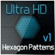 Ulta HD Hexagon Patterns v1 - GraphicRiver Item for Sale