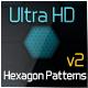 Ulta HD Hexagon Patterns v2 - GraphicRiver Item for Sale